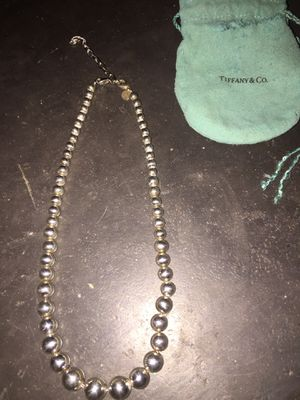 Tiffany and Co. Graduated Bead Necklace for Sale in Scottsdale, AZ
