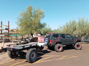 14ft 1 ton axel utility trailer for Sale in Apache Junction, AZ