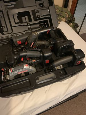 Craftsman 19.2v cordless toolset for Sale in Southbridge, MA