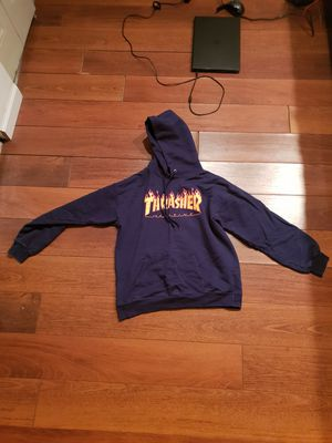 Authenthic thrasher hoodie size M men for Sale in South Plainfield, NJ