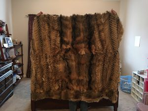 Real Fur blanket for Sale in Baltimore, MD