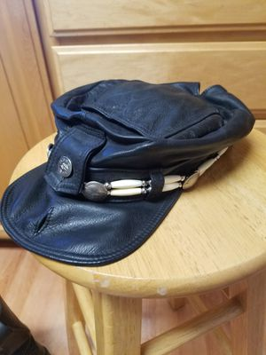 Stylish Leather Hat for Sale in San Jose, CA