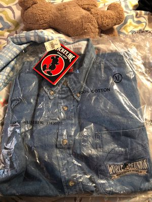 World reunion Walt Disney World Mickey Inc. 1928 Jean shirt extra-large all tags still attached and still in the bag for Sale in Gaffney, SC