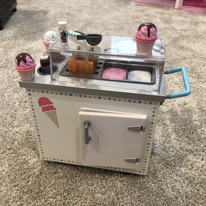 American Girl Doll Ice Cream Cart for Sale in Irvine, CA