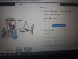 Treehouse swing set for Sale in Stanley, NC