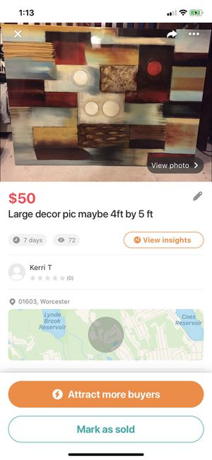 Home decor pic for Sale in Worcester, MA