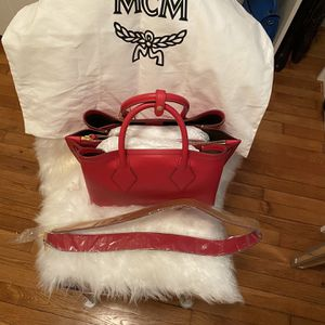 Women Red MCM Tote for Sale in Hyattsville, MD