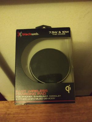 Fast wireless charging pad for Sale in Chicago, IL