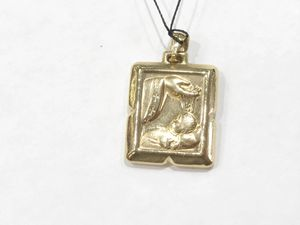 14K Yellow Gold Unisex Religious Pendant (Child's Baptism) **Great Buy** 10010659-11 for Sale in Tampa, FL