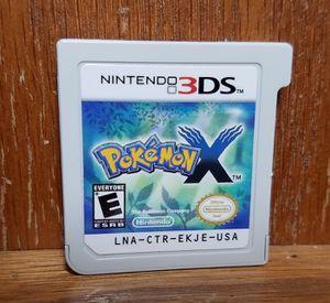 Pokemon X game for Nintendo 3DS for Sale in Modesto, CA