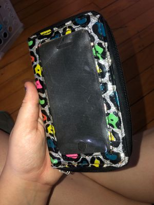 Iphone 5s 5c case wallet for Sale in Dover-Foxcroft, ME