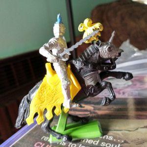 Vintage metal toy knights for Sale in Gresham, OR