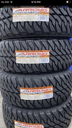 TAMAROCK MT TYRES @wholesale prices—WE DELIVER ONLY for Sale in Anaheim, CA