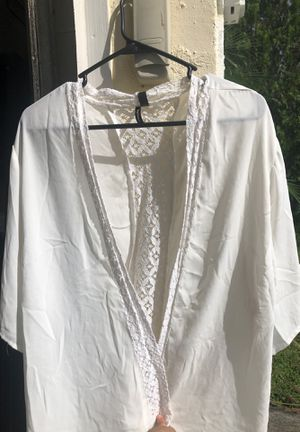White Cardigan for Sale in Kissimmee, FL