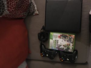 Xbox 360 and 2 controls 3 games One charger for Sale in Boston, MA