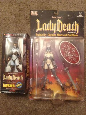 Lady death action figures for Sale in Dallas, TX