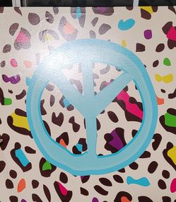 Peace Sign Print For A Girl's Room for Sale in Culver City,  CA