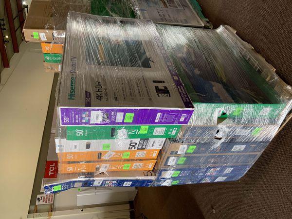 "New Hisense 50"" TV open box w/ Warranty!"