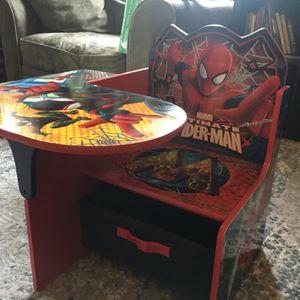 Spiderman Desk For Toddler for Sale in Glendale, CA