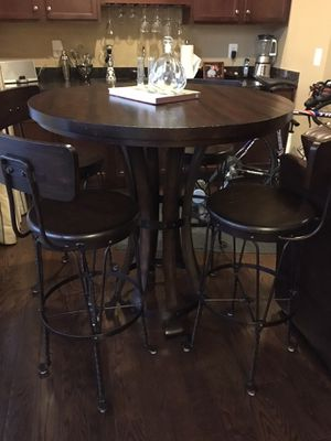 Stanley Wooden Bistro table & chairs for Sale in Ashburn, VA