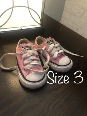 Pink Converse for Sale in El Paso, TX