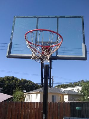 Free standing and mobile Basketball Stand, Backboard, and Hoop for Sale in Burbank, CA