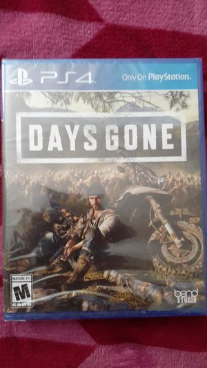 Days Gone PS4 for Sale in Salt Lake City, UT