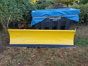 Snow Plow and Salt Dogg Spreader w/1997 Chevy 3500 for Sale in Rockville, MD