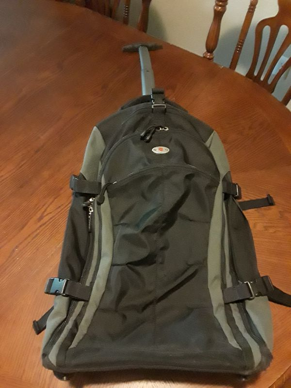 Swiss Victorinox E-Motion 360 Wheeled Carry On Backpack