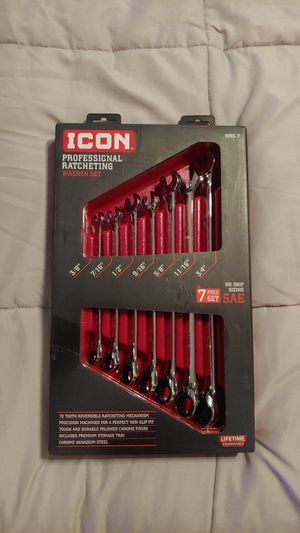 ICON SAE RATCHET WRENCH SET for Sale in Las Vegas, NV