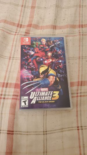 Marvel ultimate alliance 3 for Sale in Las Vegas, NV