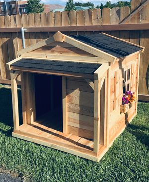 New Solid Wood Large Insulated Dog House for Sale in Bluffdale, UT