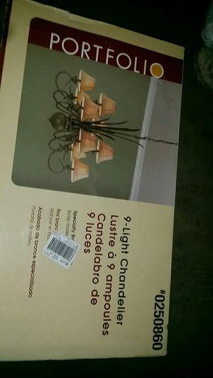 9 light chandelier for Sale in Fontana, CA