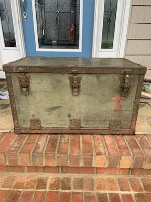 Antique military chest for Sale in Pittsboro, NC