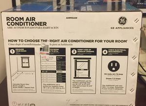 GE Window Air Conditioner Model# AHM10AW for Sale in GRANDVIEW, OH