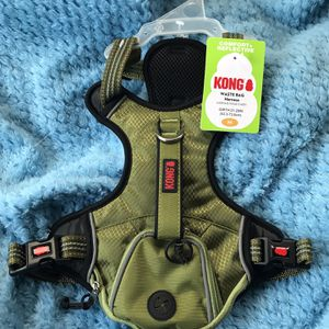 Medium Green Kong Backpack Dog Harness (LOCAL PICK UP $15) for Sale in El Cajon, CA