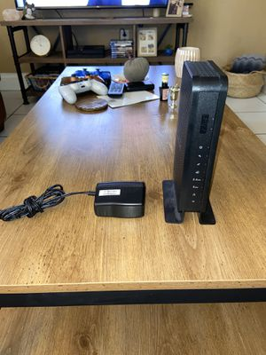 Netgear C3700 cable modem wireless router for Sale in Hollywood, FL
