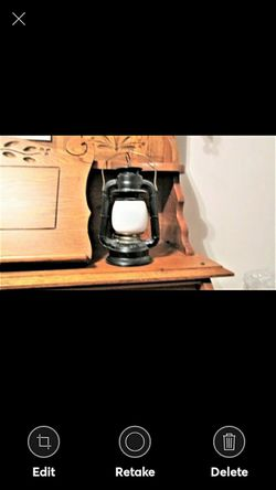 DIETZ LANTERN~ Black & Gold for Sale in Lynchburg,  VA