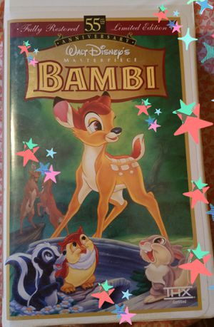 Bambi VHS for Sale in Orlando, FL