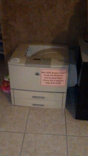 Industrial size printer for Sale in Phoenix, AZ