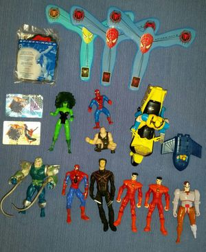 Marvel comic figures and toys (17) for Sale in Mount Airy, MD