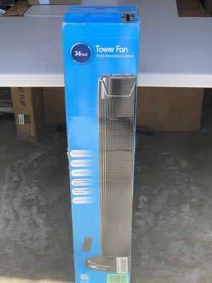 tower fan 36 inch for Sale in Corona, CA