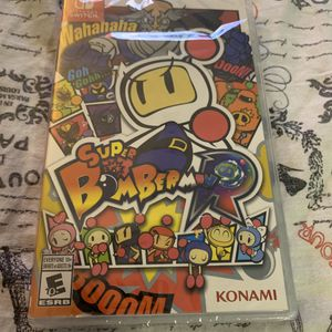 Brand new bomberman r Nintendo switch game for Sale in Milpitas, CA