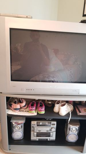 Philips HD TV with stand free for Sale in Shawnee, KS