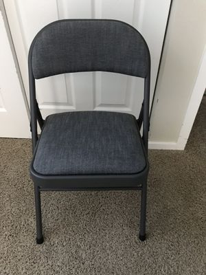 I have 4 folding chairs , 20$ each or 80$ for all , brand new for Sale in Beaverton, OR