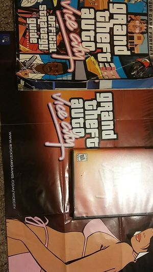 Xbox GTA vice city game and game guide for Sale in Nicholasville, KY