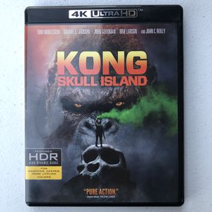 Kong Skull Island - 4K Ultra HD Blu Ray Disc for Sale in Rancho Cucamonga, CA