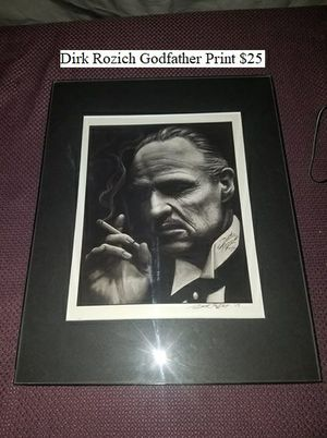 Dirk Rozich Godfather Print $25 for Sale in Dresden, OH