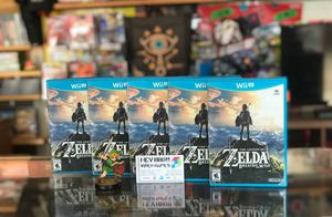 Nintendo Wii U Zelda Breath of the Wild for Sale in Houston, TX