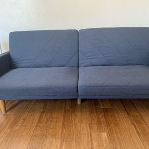 ➖Mid-Century Modern Blue Futon Couch➖ for Sale in Ontario, CA